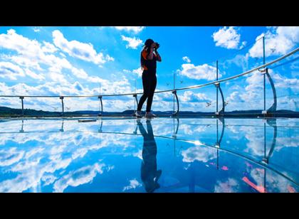 Parque Skyglass Canela - Plataforma